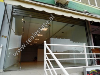 Store for rent close to Teodor Keko Street in Tirana.  It is situated on the 2-nd floor of a new b