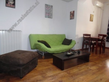 One bedroom apartment for rent in Brigada VIII Steet in Tirana. It is situated on the 2-nd floor of
