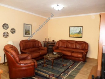 Apartment for rent in Andon Zako Cajupi Street in Tirana. The flat is situated on the third floor o