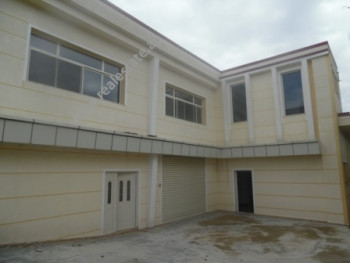 Warehouse for rent in Siri Kodra street in Tirana.