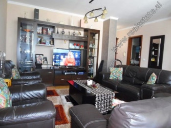 Three bedroom apartment for sale close to Asim Vokshi School in Tirana.