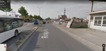 Land for sale near Hygeia Hospital in Tirana.