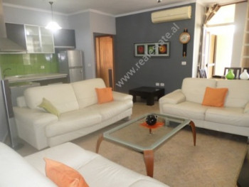 Two bedroom apartment for rent in Mahmut Fortuzi street in Tirana, Albania.