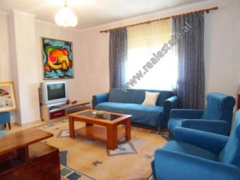 One bedroom apartment for rent in Haxhi Hysen Dalliu Street in Tirana.