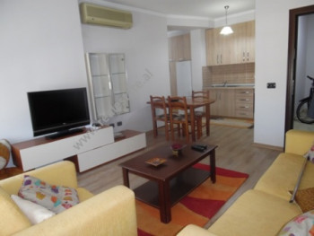 Two bedroom apartment for rent close to Muhamet Gjollesha street in Tirana. It is situated on the s