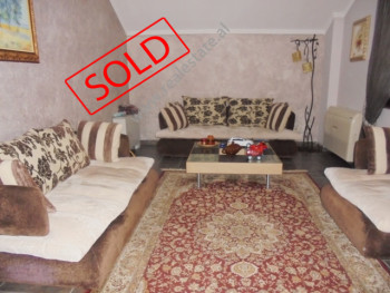 Duplex apartment for rent in Komuna Parisit street in Tirana. Positioned on the 10 th floor of a ne