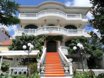 Four storey villa is on sale in Dhimiter Kamarda street, in Ali Demi area in Tirana. The villa was