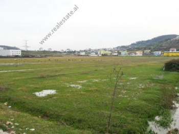 Land for sale near Iliria Street in Tirana.