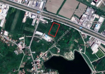 Land for sale close to Butrinti secondary road in Kashar area in Tirana.