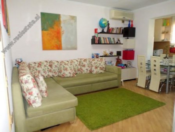 One bedroom apartment for rent in Qemal Guranjaku Street in Tirana. It is situated on the 4-th floo