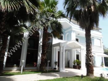 Three storey villa for rent near Dibra street, in Tirana. The underground floor has a surface of 96