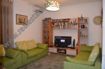 Two bedroom apartment for rent in Muhamet Gjollesha street near Zogu i Zi area in Tirana.