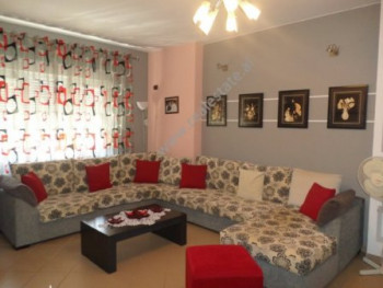 One bedroom apartment for rent in Zef Jubani street in Tirana, Albania. The apartment is situated o
