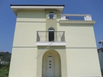 Three storey villa for rent in Riza Kasemi street in Tirana. The villa has surface of 240 m2 and th