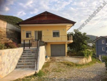 Two storey villa for sale in Shire Street in Tirana.