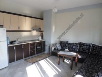 Apartament 1+1 me qera ne rrugen Besim Alla ne Tirane. Ndodhet ne katin e V-te te nje pallati te ri