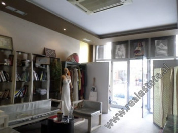 Store space for sale in Selita e Vjeter street, in Botanic Garden area in Tirana.