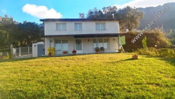 Villa and land for sale in Priske e Madhe area in Tirana. It offers total land area of 2110 m2, and