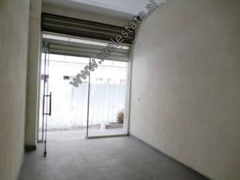Store for sale in Panorama street, near Unaza in Tirana.