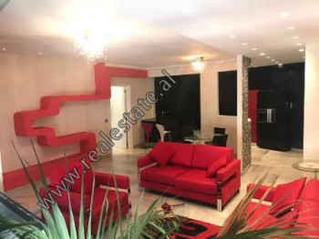 Modern two bedroom apartment for rent in Sami Frasheri street in Artificial Lake area. It is locate