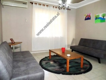 Two bedroom apartment for rent in Kavaja Street in Tirana. It is located on the first floor of an o