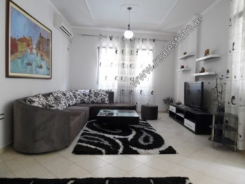 Two bedroom apartment for rent close to Brryli area in Tirana. It is located on the 2nd floor of a