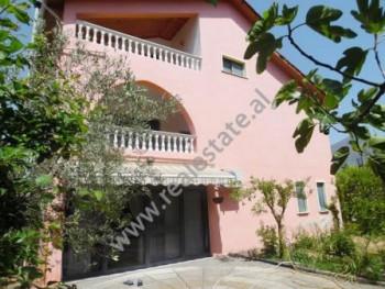 3-Sorey Villa for rent in Filip Shiroka Street in Tirana. It has land area of 585.80m2 and construc