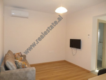 Apartament 1+1 me qera ne rrugen Mic Sokoli, pas Pallatit te Sportit Asllan Rusi ne Tirane. Ndodhet