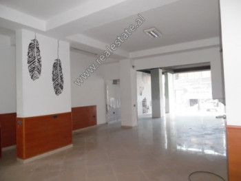 Duplex store for rent in Mihal Duri Street in Tirana. It is located on the first floor and the unde