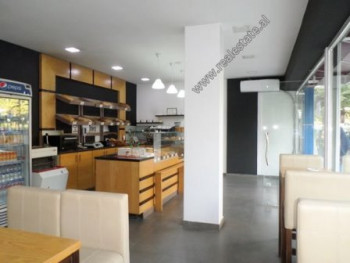 Store space for rent near 21-Dhjetori area in Tirana. It is located on the ground floor of a two st