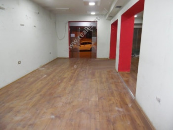 Store space for rent close to Zogu I Bouelavard in Tirana, Albania.