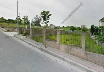 Land for sale in Pasho Hysa Street in Tirana.