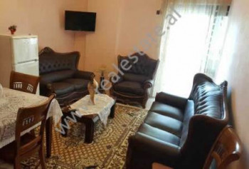 Apartment for rent in Lidhja Prizrenit Street in Tirana. It is situated on the 8th floor in a new b