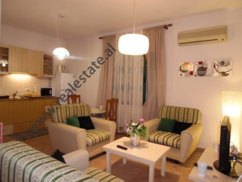 Two bedroom apartment for rent in Reshit Collaku street, in Shallvaret area in Tirana.