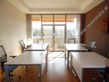 Office for rent close to Blloku area in Tirana. It is located on the 4th floor of a new building th