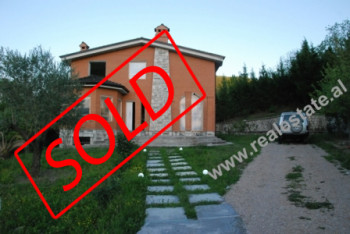 Two storey villa for sale in Tirana It is built and designed specifically for holidays and relaxing
