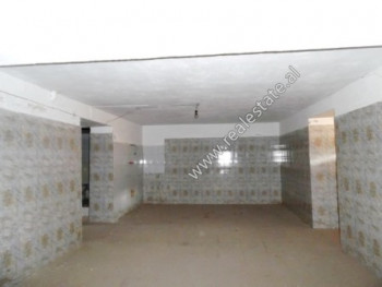 Store space for rent in Haxhi Kika Street in Tirana.