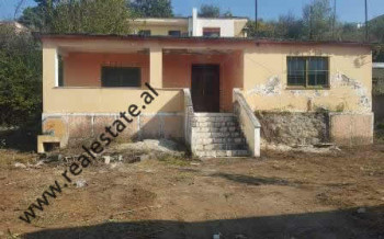 Land and house for sale in Myslym Keta street, in Tufine area in Tirana.