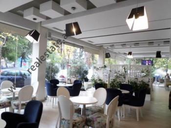 Coffee-Bar for sale in Mustafa Qosja street, near Sulejman Delvina street in Tirana. It is located