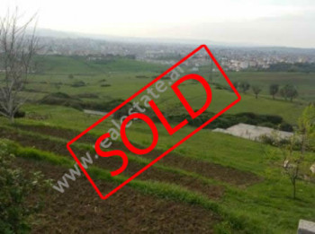 Land for sale only a few meters away from Farka Lake in Tirana.