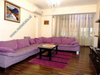 Two bedroom apartment for rent in Sulejman Pitarka Street in Tirana. It is located on the 2