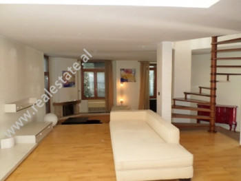 Duplex apartment for sale in Liman Kaba street, near Dinamo Complex in Tirana. It is located on the