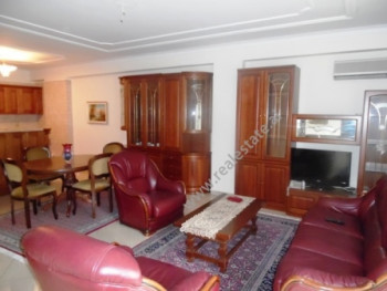 Two bedroom apartment for rent in Blloku area in Tirana. The apartment is situated on the 2nd floor