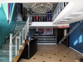 Duplex store for rent in Dervish Hima Street in Tirana. It is located on the first and second floor