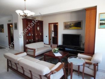 Three bedroom apartment for rent in Abdi Toptani street, in Tirana, Albania. It is located on the X