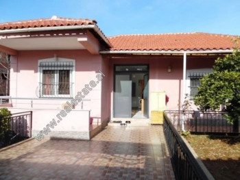 One storey villa for sale in Rexhep Tarja Street in Tirana. The villa has 214.40 m2 of land surface