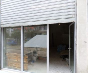 Store space for rent in Unaza e Re area, in Sabri Preveza street, in Tirana, Albania.