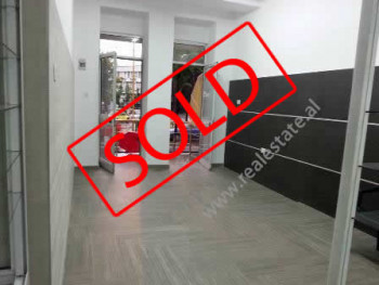 Store for sale near Adem Jashari Square in Tirana. It is situated on the ground floor in an old bui