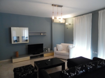 Apartment for rent in Sun Hill Residence in Tirana. The apartment is situated on the second floor o