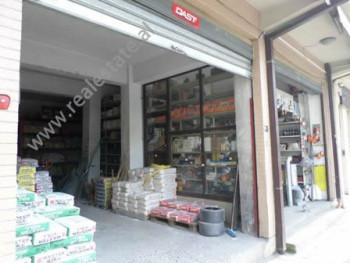Store for rent near Sami Frasheri School, in Barrikadave street, in Tirana, Albania. It is located